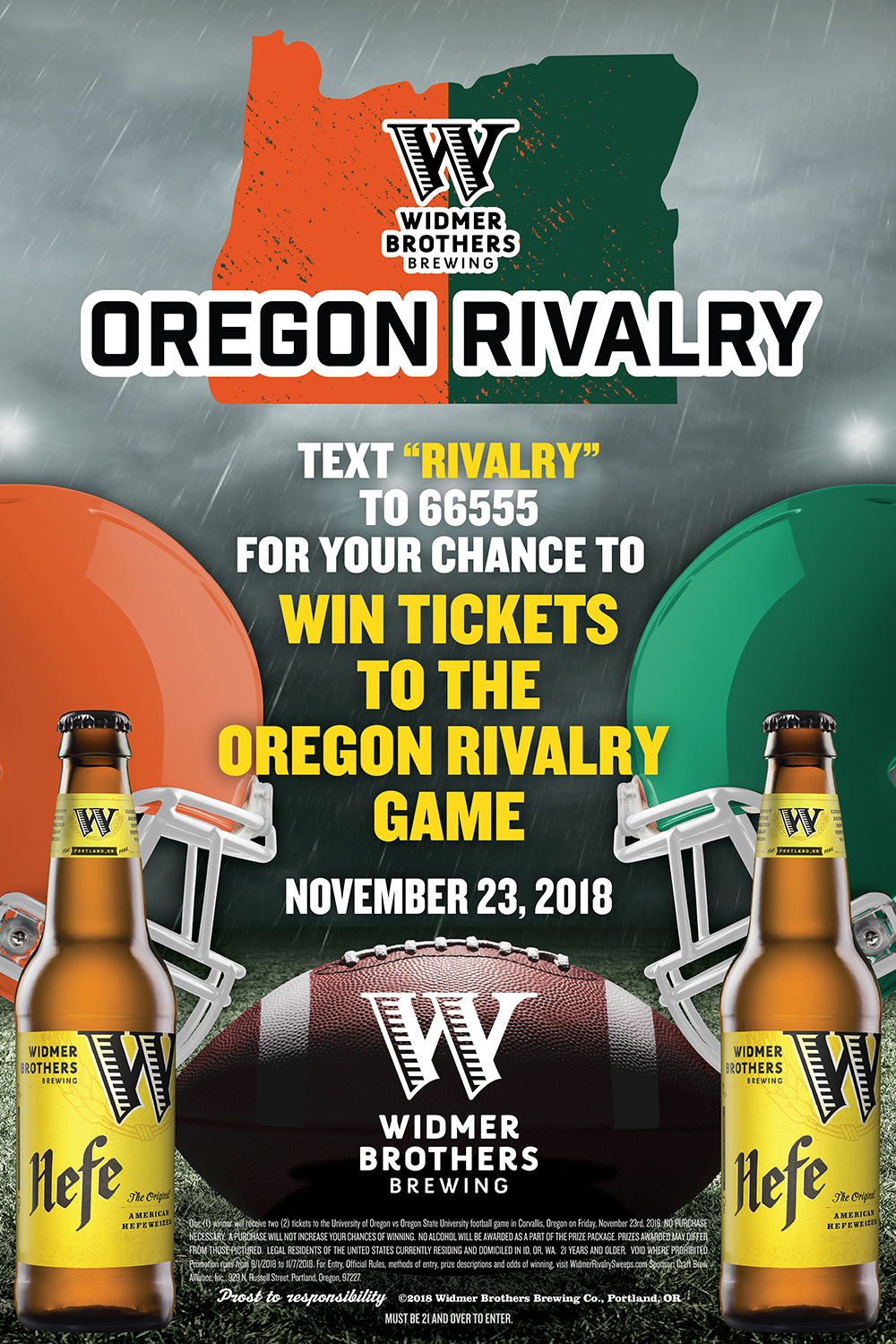 Widmer Brothers Brewery Sweepstakes | RIVALRY